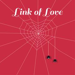 Spider heart of love