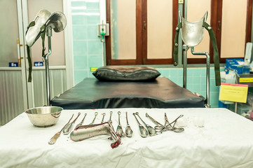 gynecological equipment use for treatment gynecological disease