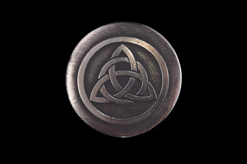 Trinity. The ancient symbol of the unity spirit, soul and body