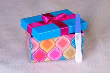 pregnancy in gift boxes