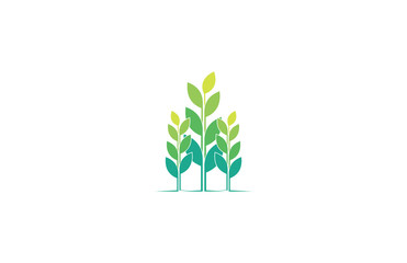 plant food icon logo