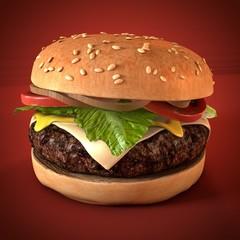 cheeseburger hamburger