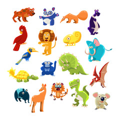 Southern Animals Set