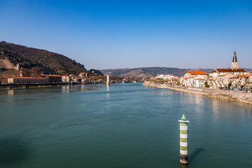 Sur le pont du Rhône à Tain l'Hermitage