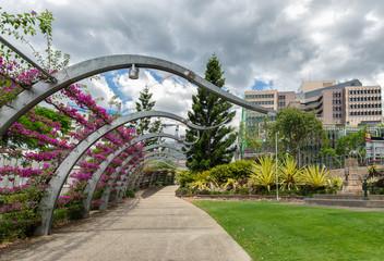 Gardens in the Queensland city of Brisbane