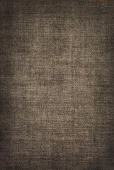vintage dark  linen fabric texture. vintage horizontal  backgrou