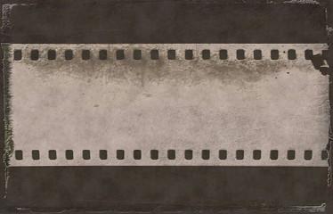 grunge film strip background, film roll texture