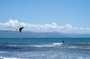 Fotografia Kitesurf al Mare