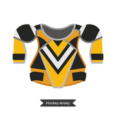 Hockey jersey element 6