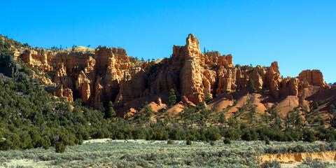 Panorama of Red Canyon, Utah