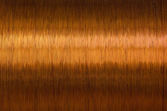 copper wire spool texture metal