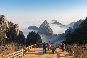 Mt. Huangshan in Anhui, China.