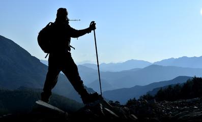 yüksek dağlarda macera peşinde
