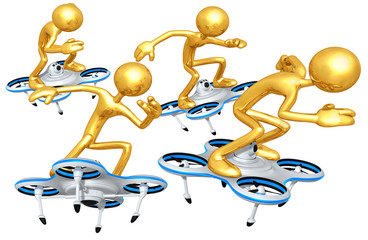 Aerial Drone Racing Concept