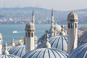 Foto op Canvas Turkije Istanbul, Bosphorus, Turkey