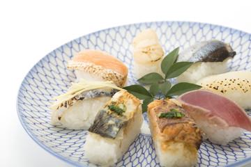 食 寿司 盛り合わせ 炙り寿司