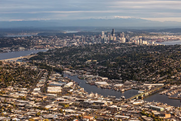 Downtown Aerial View – Seattle