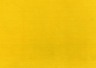 Abstract yellow textile surface.