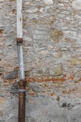 Old drainpipe