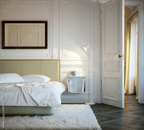 Schlafzimmer In Altbau Apartment Luxury Vintage Bedroom In Old