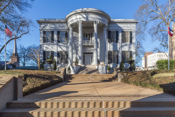 Mississippi Governor's Mansion in Jackson,  Mississippi