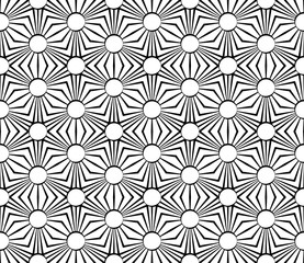 Vector modern seamless geometry pattern grid, black and white abstract geometric background, pillow print, monochrome retro texture, hipster fashion design