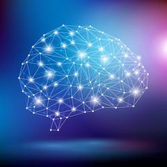 mózg wektor
