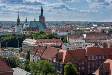 Szczecin. Panorama Miasta
