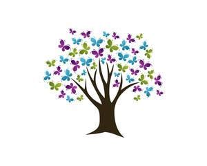 Butterfly Tree Logo