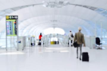 Airport terminal background (blur)