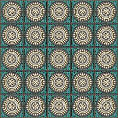 Traditional cambodian mosaics