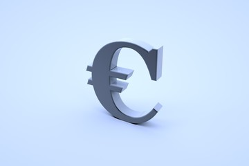 Euro Sign in Motion