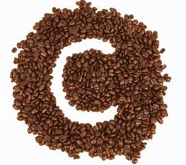 Coffee text , C alphabet