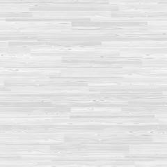 White Parquet Seamless Wooden Stripe Mosaic Tile