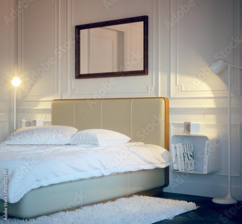 old vintage style bedroom - retro design schlafzimmer \