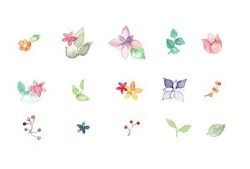 花冠、パーツ