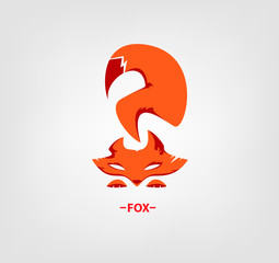 Fox logo on white background.