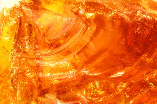 abstract of sunlight passed throughout piece of rosin
