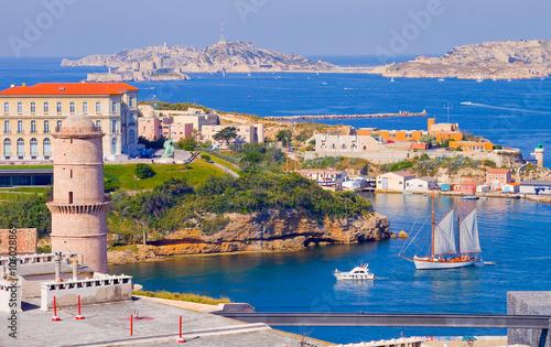 Marseille entr e du vieux port fort saint jean - Parking vieux port fort saint jean marseille ...