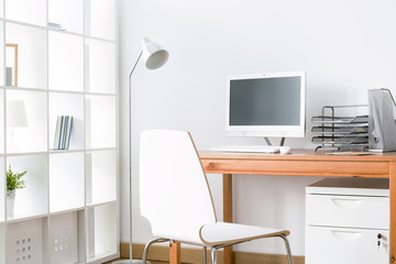 Work become so easy in functional interior