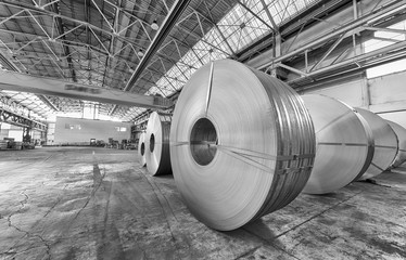 Industrial factory - Metal cutter machine
