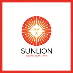 Myth Sun Lion Logo