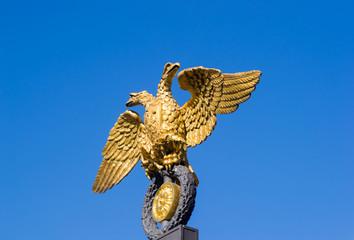 Golden double-headed eagle