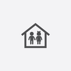 couple home icon