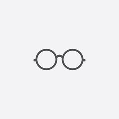 round glasses icon