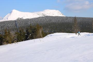 Mézenc, ski de fond, Haute-Loire, Auvergne, France