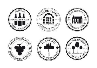 Logos - étiquette vin