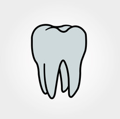 Dentist logo. Dentistry. clinic