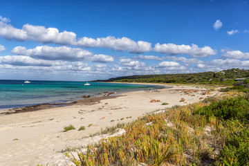 Eagle Bay beach on Geographe Bay in Western Australia