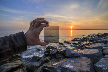 How to nd filter effects the image, reverse light image and very shallow depth of field